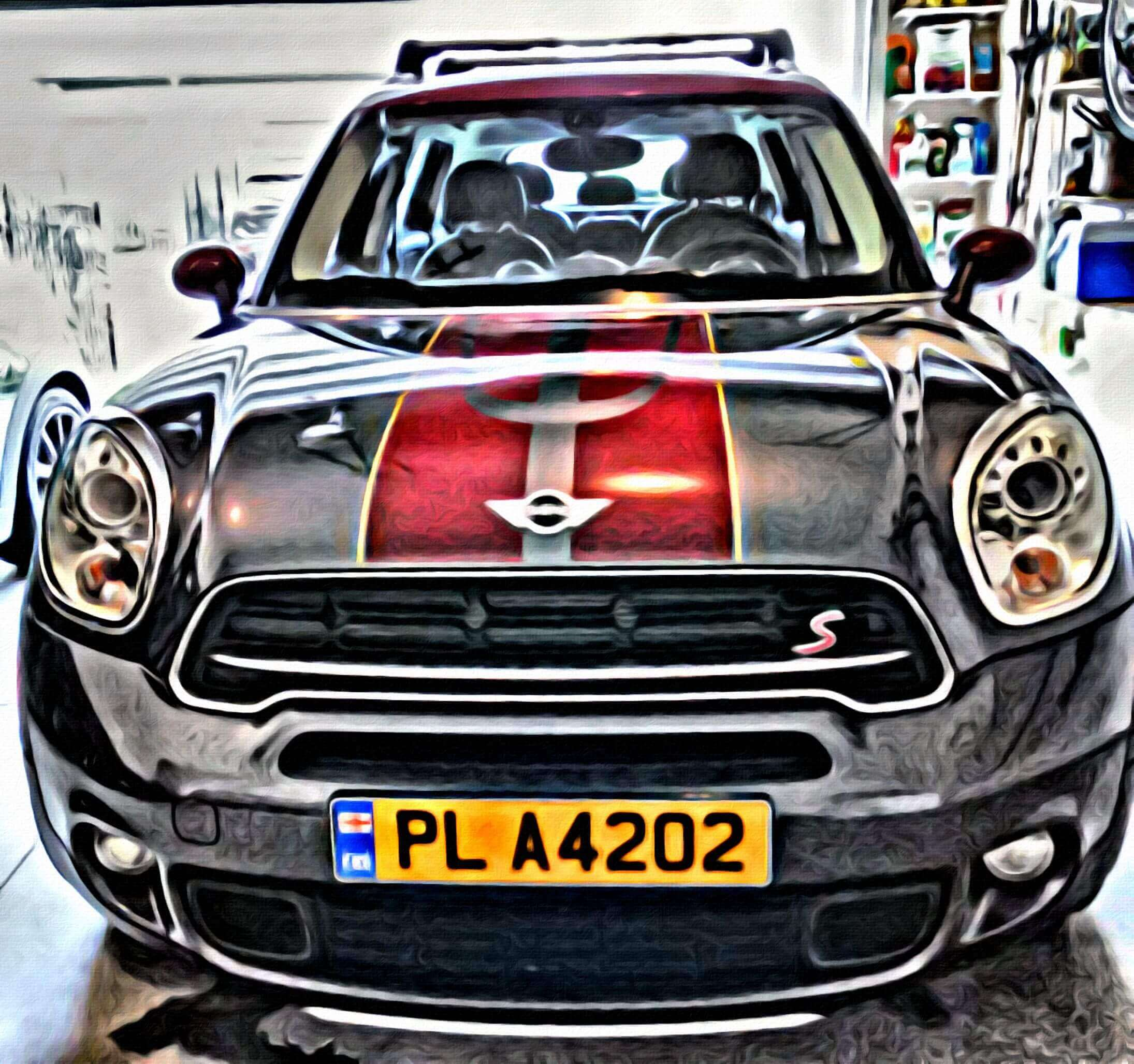 Mini cooper rubber floor mats uk - Manual Trans Navigation Sunroof Earl Grey 18 Fan Blade Wheels And Complete With Roof Rails And All Weather Mats Accented Red Oak Stripes With A Yellow